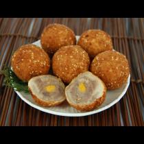 蛋黃麻糬芋丸
